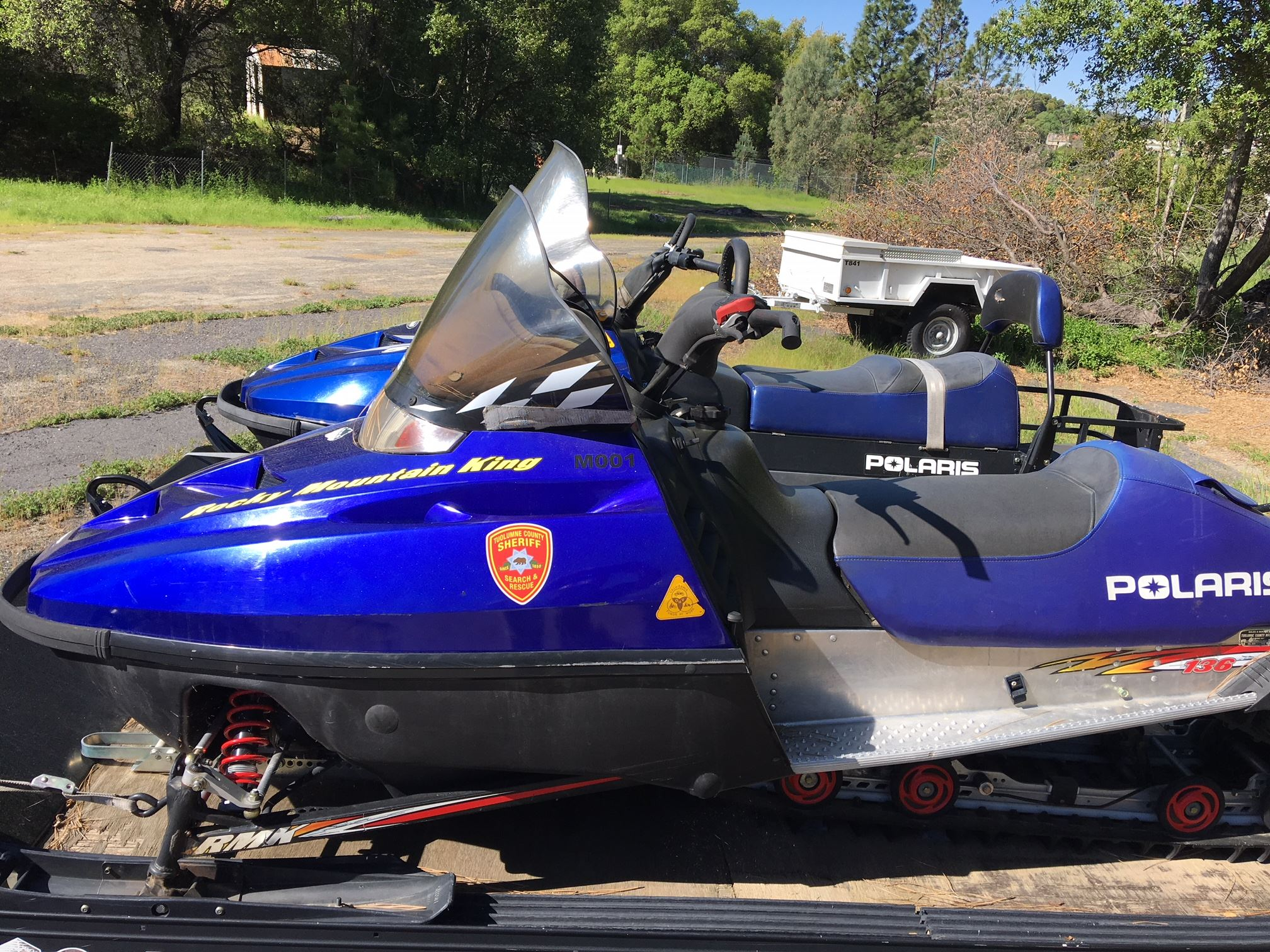 2000 Polaris 600 Snowmobile M001
